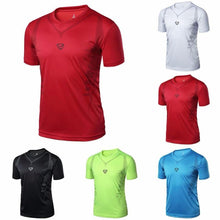 Load image into Gallery viewer, Men's Quick Dry Running T-shirt