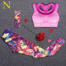 Load image into Gallery viewer, Women's Yoga Set With Headband