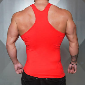 Solid Color Sleeveless Shirt