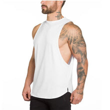 Load image into Gallery viewer, Sleeveless Bodybuilding Tank Top