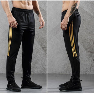 Running Pants With Zipper Pocket