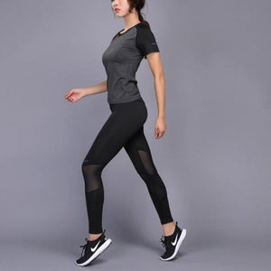 T-shirt & Breathable Leggings Set
