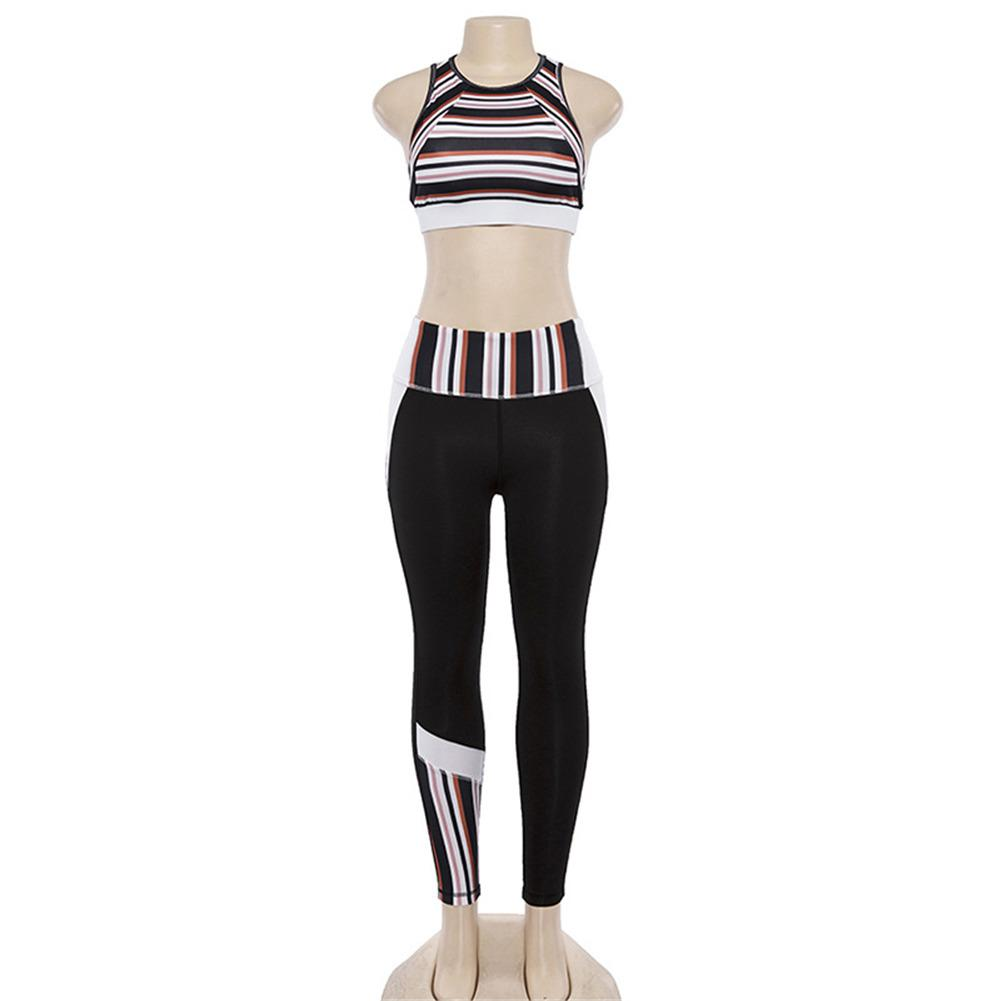 Stripes Yoga Set