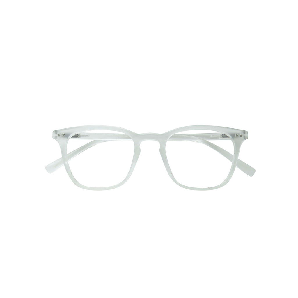 Ecofriendly reading glasses sena transparent parafina