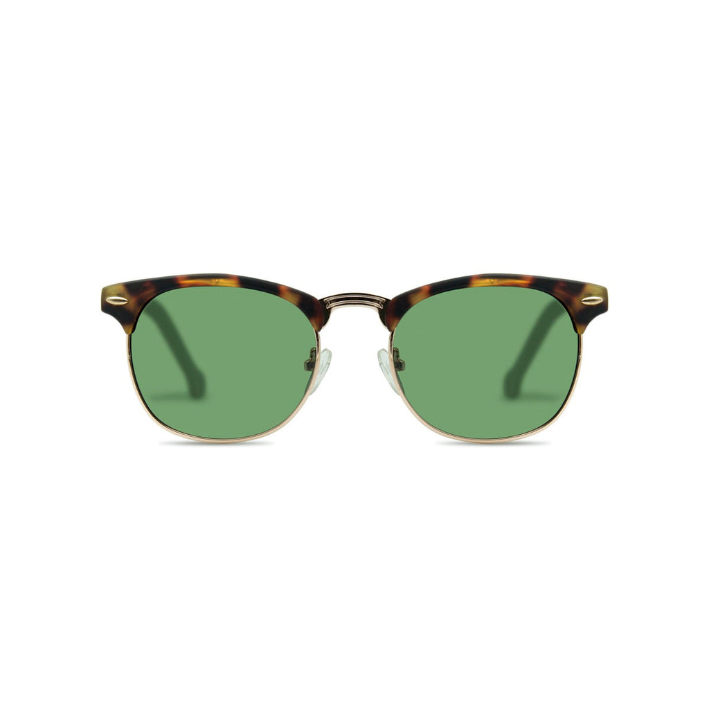 Ecofriendly sunglasses bahia green brown parafina