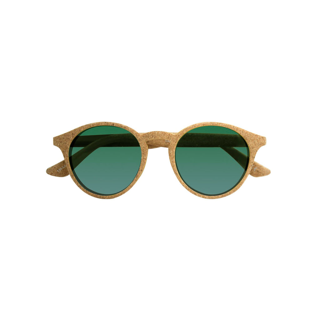 Ecofriendly sunglasses laguna green brown parafina