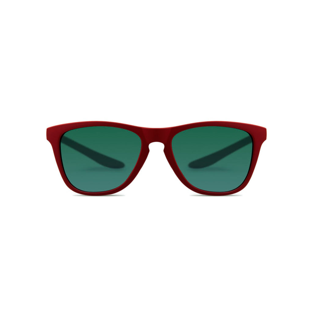 Ecofriendly sunglasses puerto red green parafina