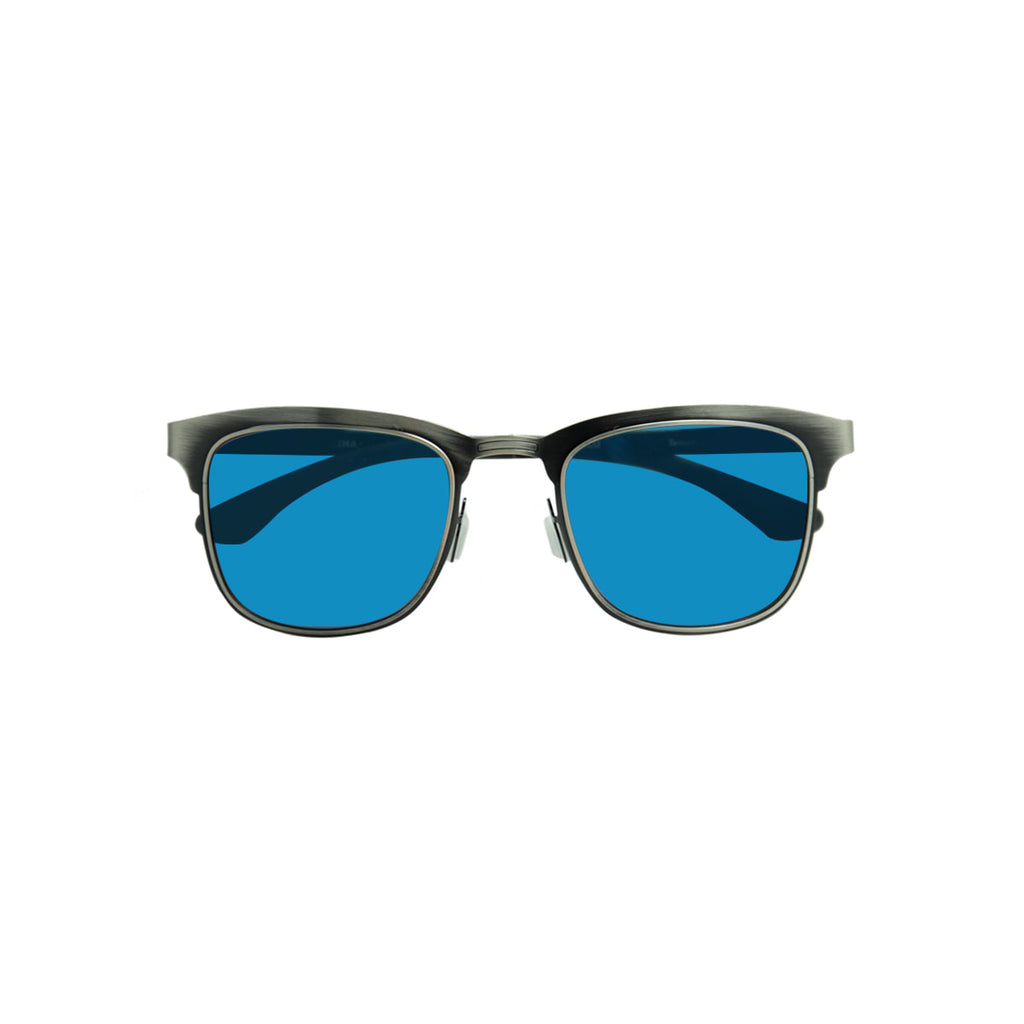 Ecofriendly sunglasses tormenta blue black  parafina