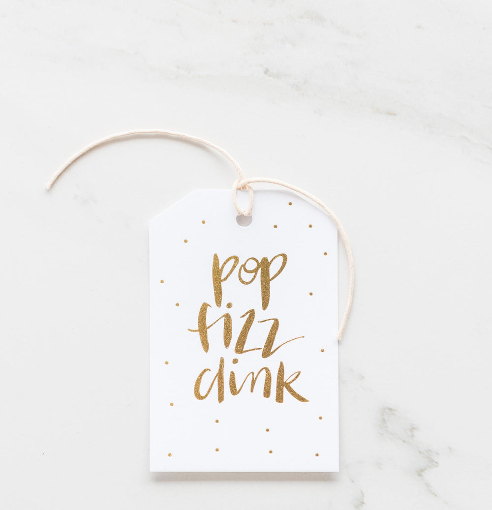 Pop Fizz Clink Gift-Tag