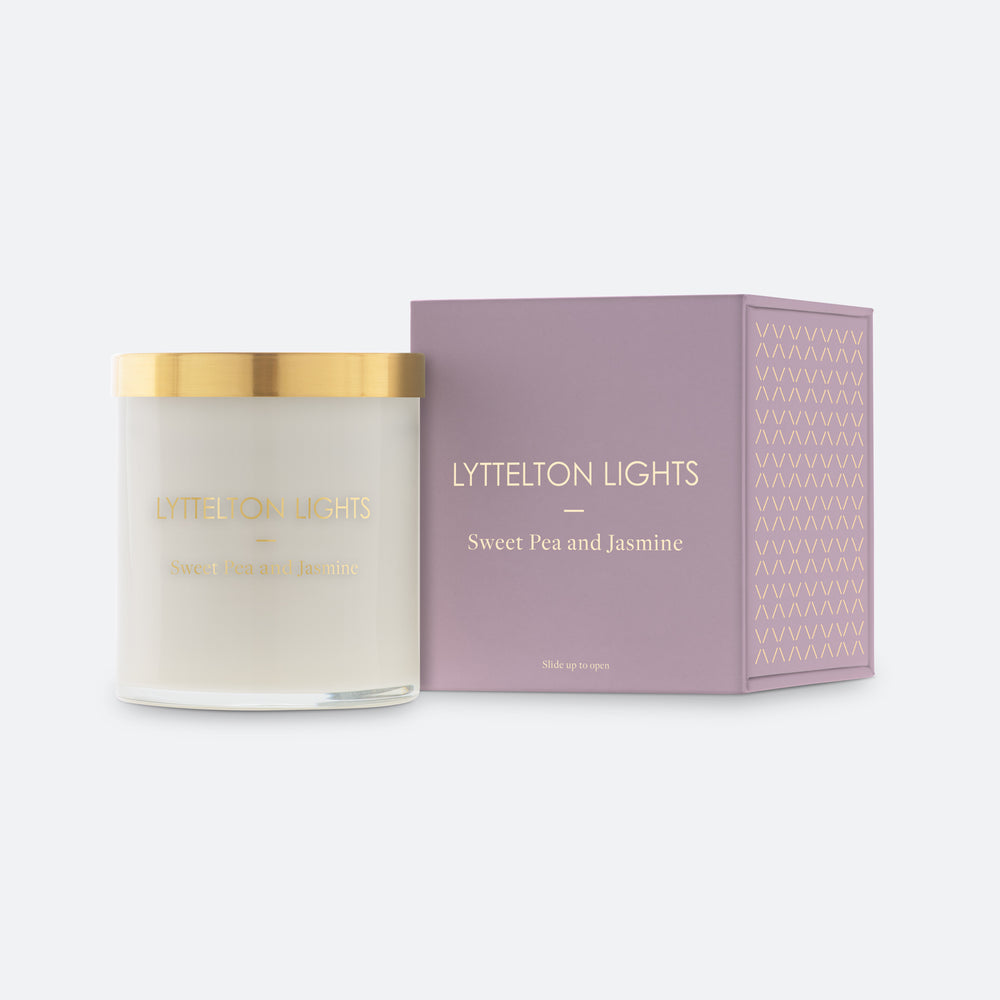 Lyttelton Lights Sweet Pea & Jasmine Candle