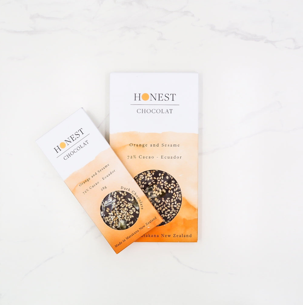 Orange & Sesame - Honest Chocolat