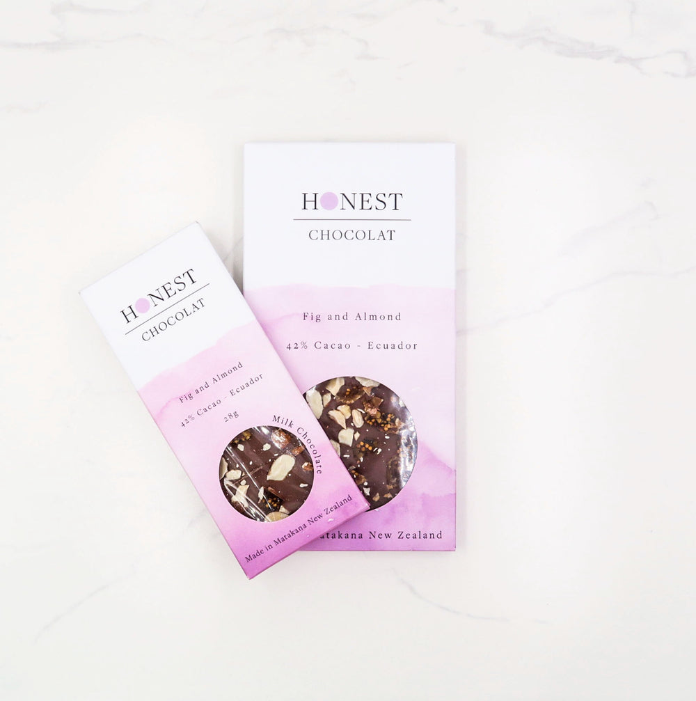 Fig & Almond - Honest Chocolat