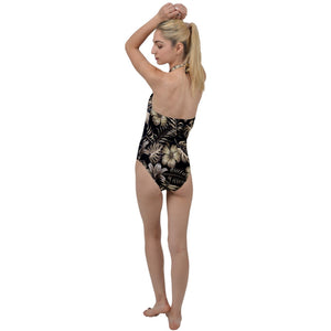 395 Floral Design Go with the Flow One Piece Swimsuit - Planet-Winkie