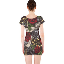 Load image into Gallery viewer, Planet-Winkie Gangsta short sleeve Bodycon Dress