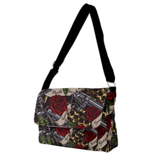 Load image into Gallery viewer, Exclusive Gangsta Full Print Messenger Bag (S)
