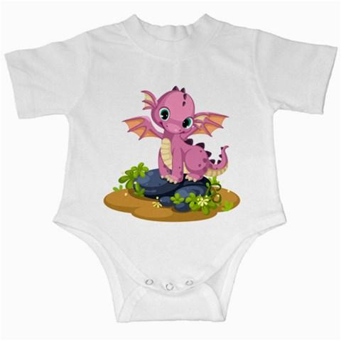 Pink Dragon Infant Creeper - Planet-Winkie