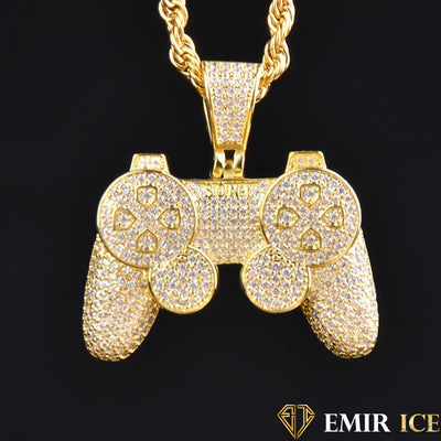 COLLIER PENDENTIF MANETTE PLAYSTATION - Emirice.com