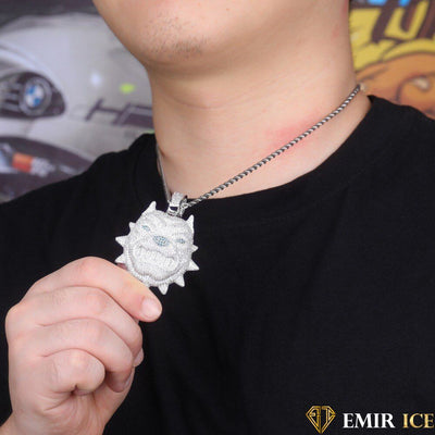 COLLIER PENDENTIF CHIEN BULLY - Emirice.com