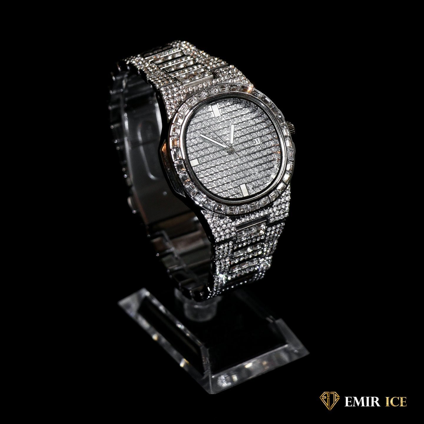 MONTRE EMIR WATCH V6 OR BLANC