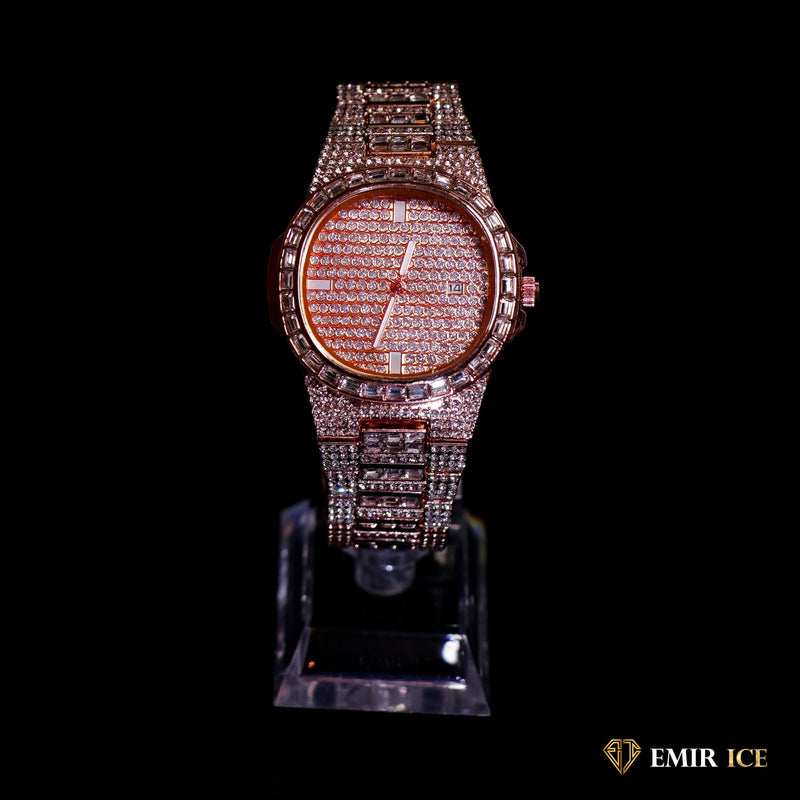 MONTRE EMIR WATCH V6 OR ROSE