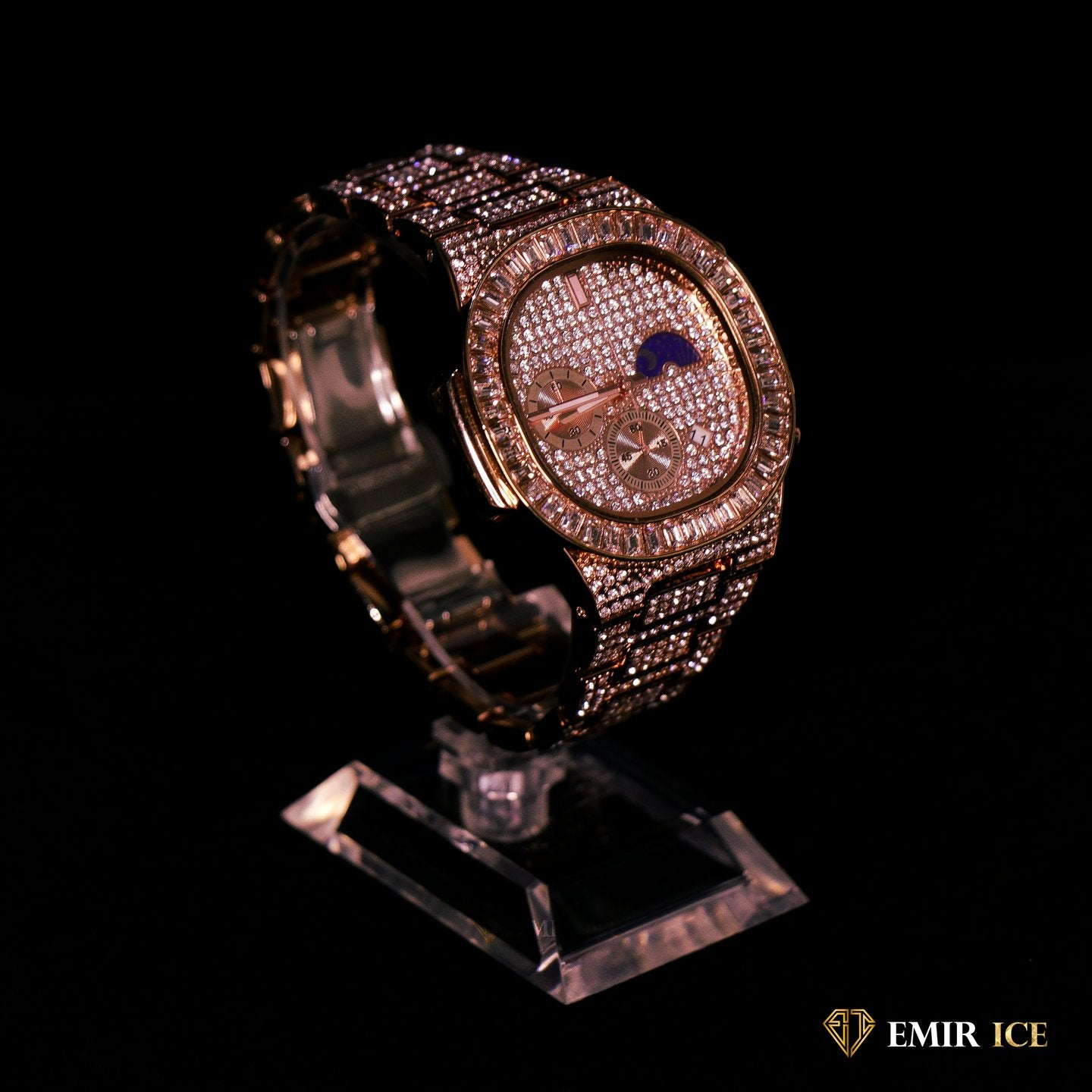 MONTRE EMIR WATCH V7 OR ROSE