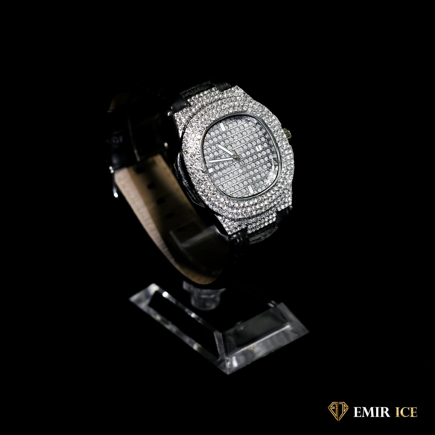 MONTRE EMIR WATCH VCUIR OR BLANC