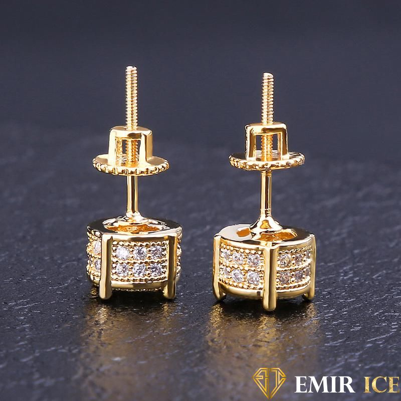 ANNEAUX EMIR EARRINGS OR JAUNE V4 - emirice.com