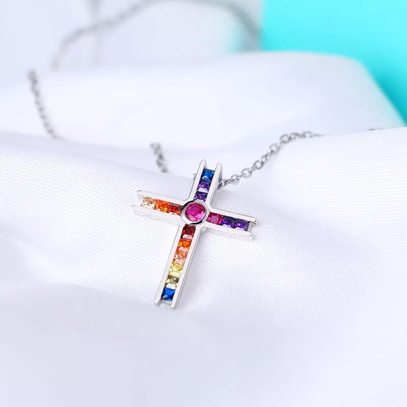 "COLLIER LGBT ""MAGIC CROSS"" - Emirice.com"