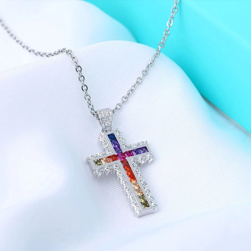 "COLLIER LGBT ""PEACE CROSS"" - Emirice.com"