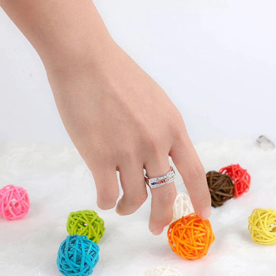 "BAGUE LGBT ""TRIPLE ROW"" - Emirice.com"