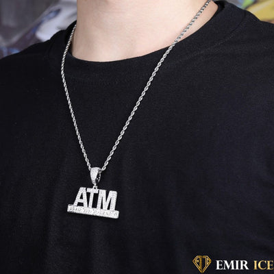 COLLIER PENDENTIF ADDICTED TO MONEY - Emirice.com