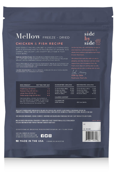 Mellow Freeze-Dried | Whole Pet Food (back)