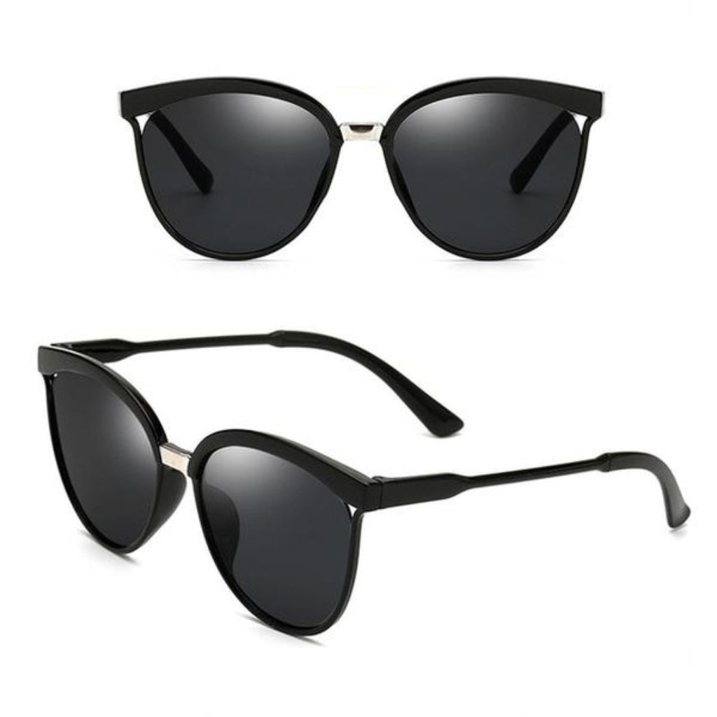 Black Cat Eye Sunglasses