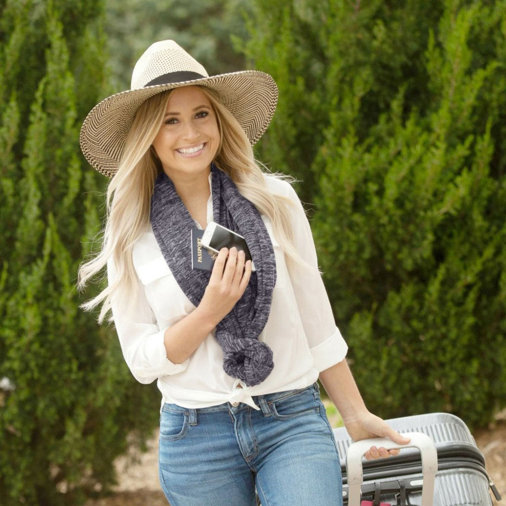 Infinity Scarf | Convertible Pocket Scarf