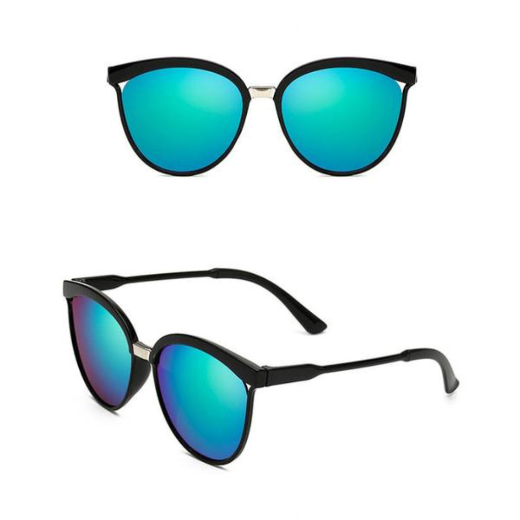 Green Cat Eye Sunglasses