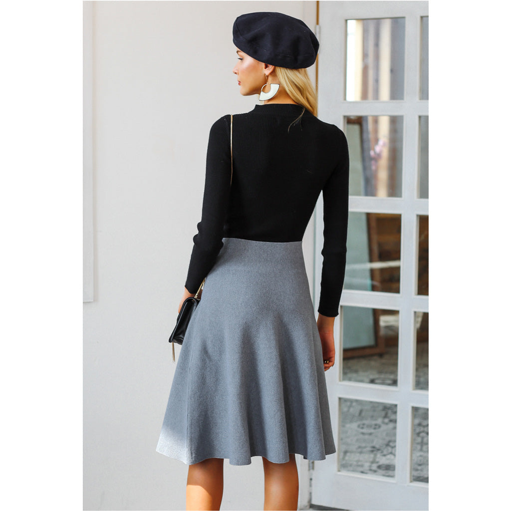 Street Style Skirt Styles for Fall and Spring
