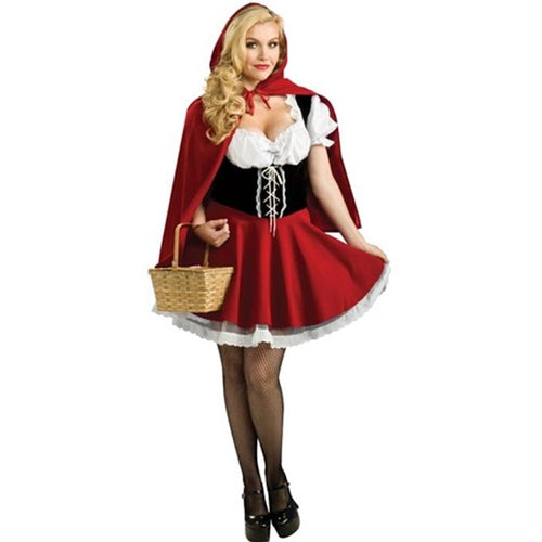 Little Red Riding Hood Women's Cosplay Halloween Costume