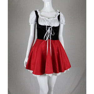 Little Red Riding Hood Dress Costume Women's Cosplay Outfit