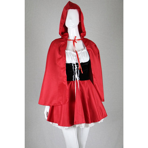 Little Red Riding Hood Halloween Costume Women's Cosplay Outfit