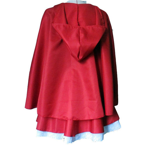Little Red Riding Hood Jacket Costume for Women's Cosplay