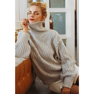 Casual Street Style Sweater Loose Long Sleeve