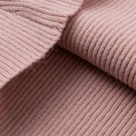 Soft Pullover Sweater Pink V-neck
