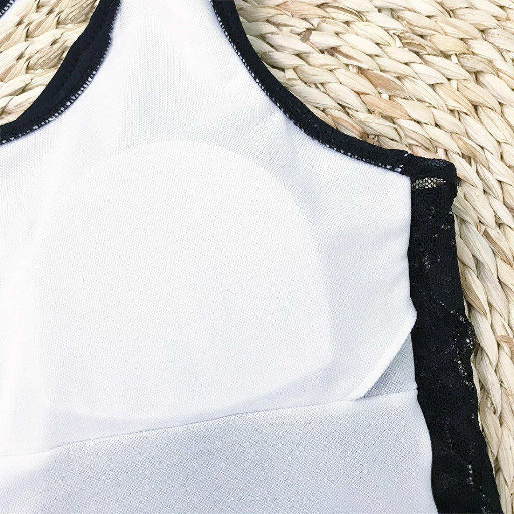 Padded One-shoulder Swimsuit
