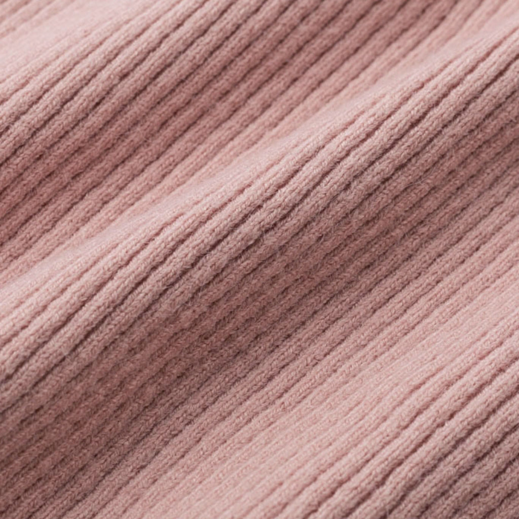 Pink V-neck Sweater lightweight