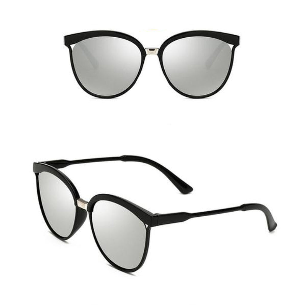 Silver Cat eye Sunglasses