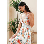 Vintage Long Maxi Dress Street Style Fashion Bohemian Backless Dress