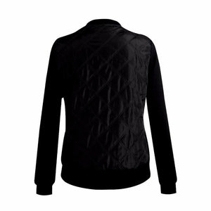 Women's Black Bomber Jackets stylish fall bomber jackets for women