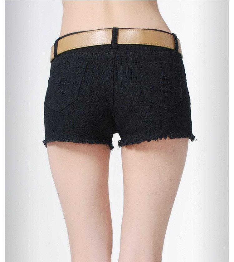 Tassel Torn | Denim Shorts