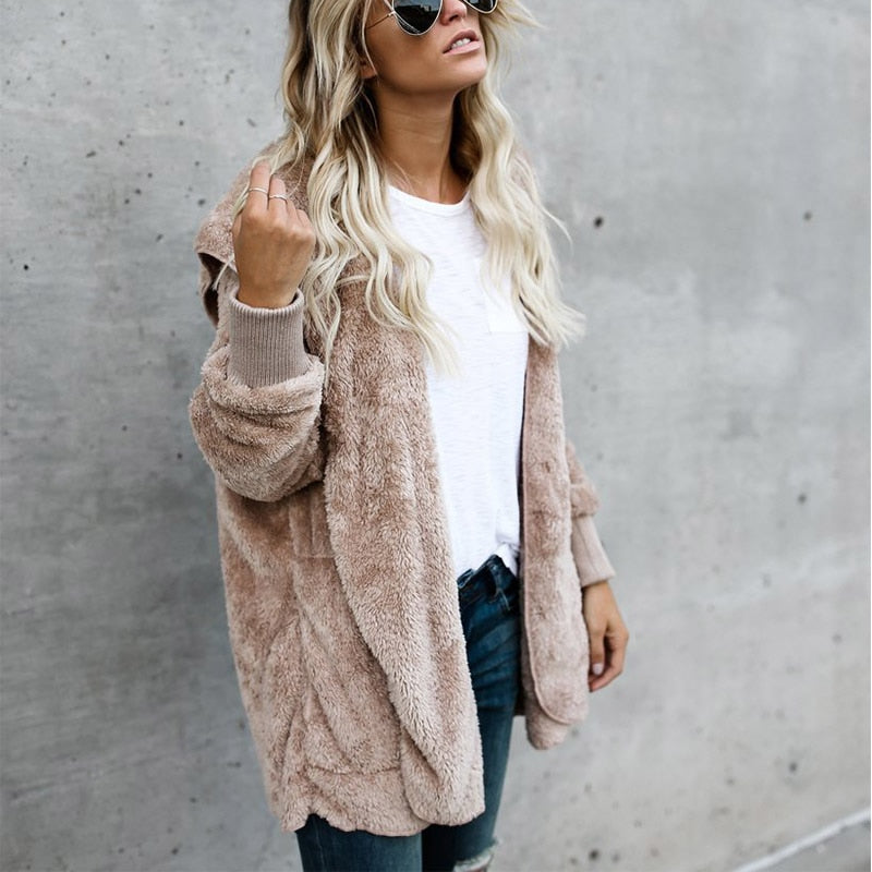 Faux Fur | Fuzzy Jacket