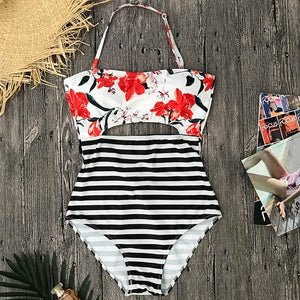 Tropical Swimsuit | One-piece